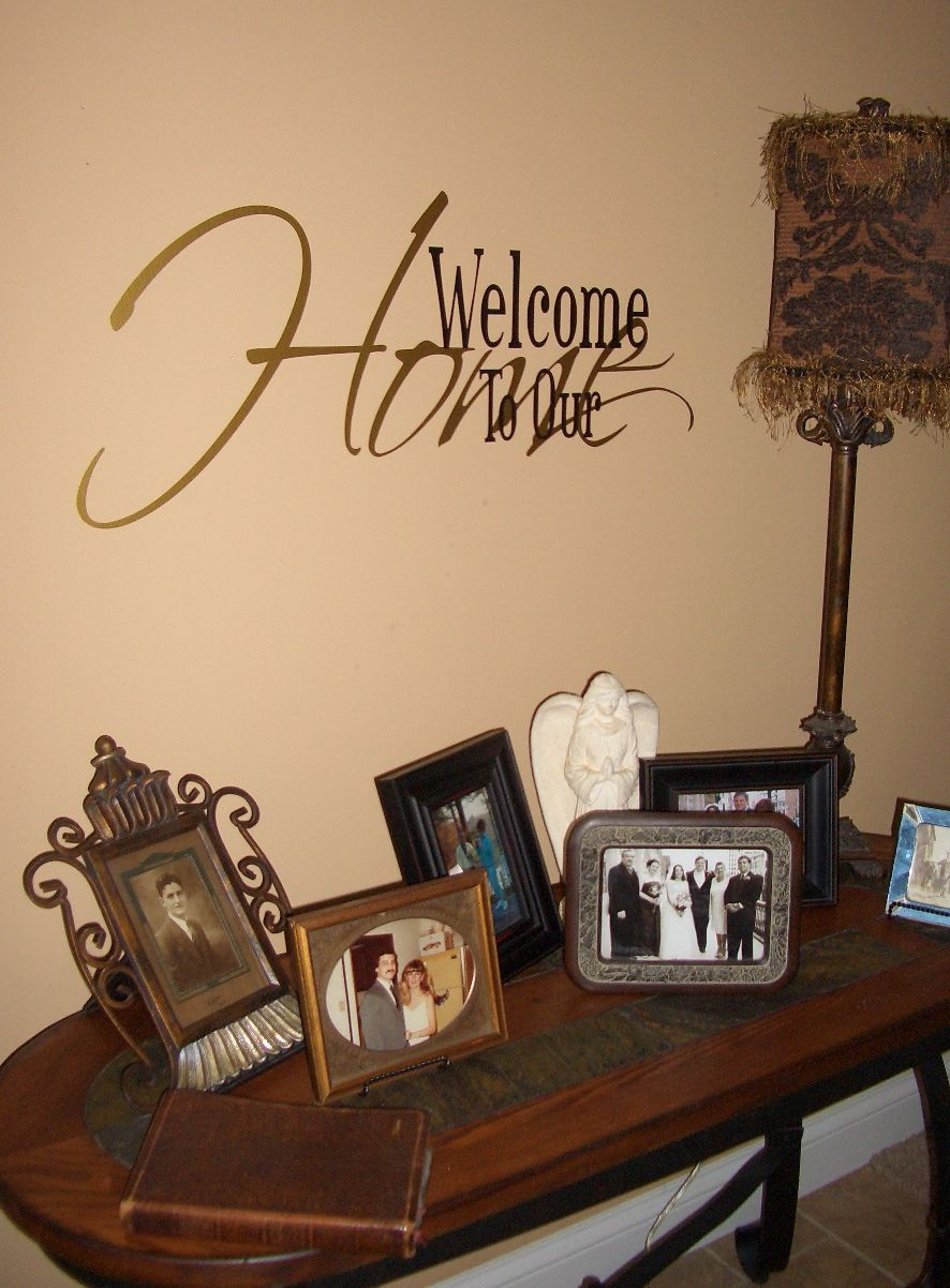 Foyer Room Quotes : Wall quotes for your foyer living room